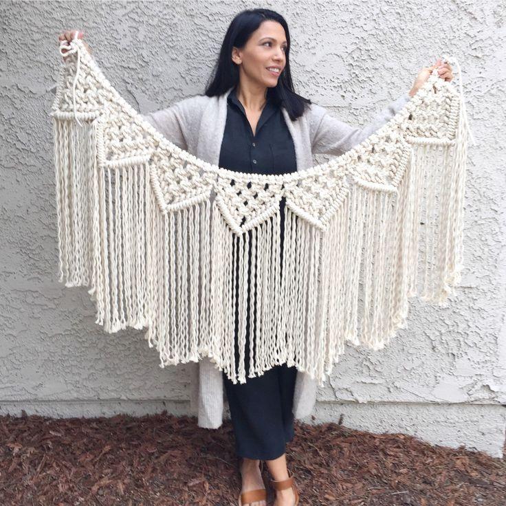 Фото из статьи: Макраме возвращается: тренд на узелковое плетение снова с нами