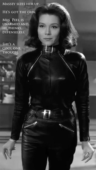 """When Millie first saw Mrs. Peel in her catsuit a bomb went off! """"I want to be her"""""""