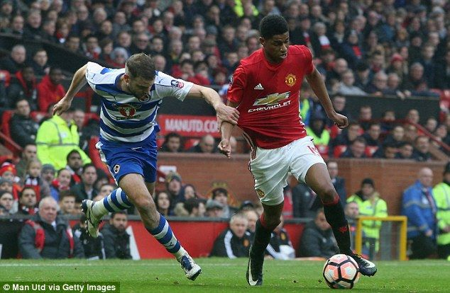 Marcus Rashford impressed with his persistence and scored a second-half brace