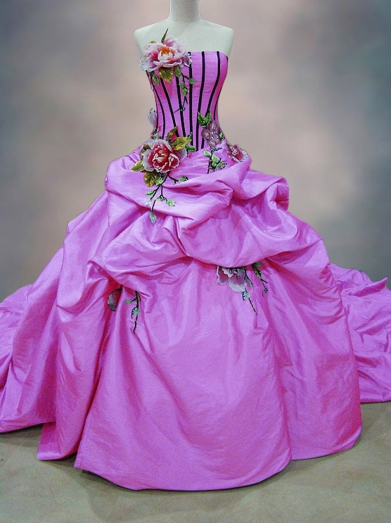 Quinceanera Galleria - Purple Corseted Quinceanera Dress with Floral Details, $365.00 (http://www.quinceaneragalleria.com/purple-corseted-quinceanera-dress-with-floral-details/)