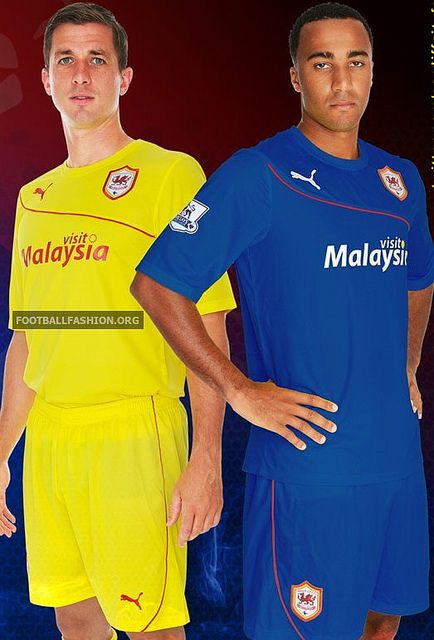 Cardiff City FC 2013/14 PUMA Away and Third Kits