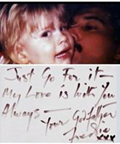 Letter from Freddie to Richard (his godson) Mary Austin's son. This is just precious