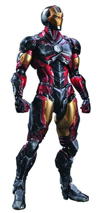 Reb Black and Gold Iron Man 2