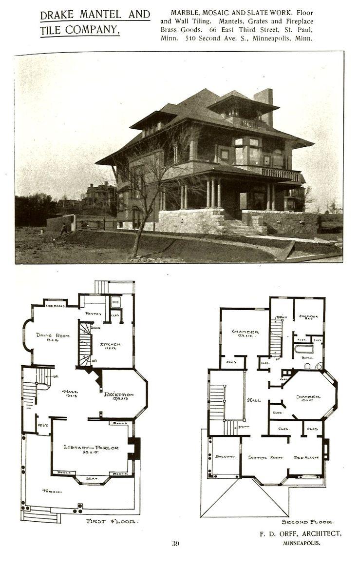 McLain House, 1893 Craftsman Plan