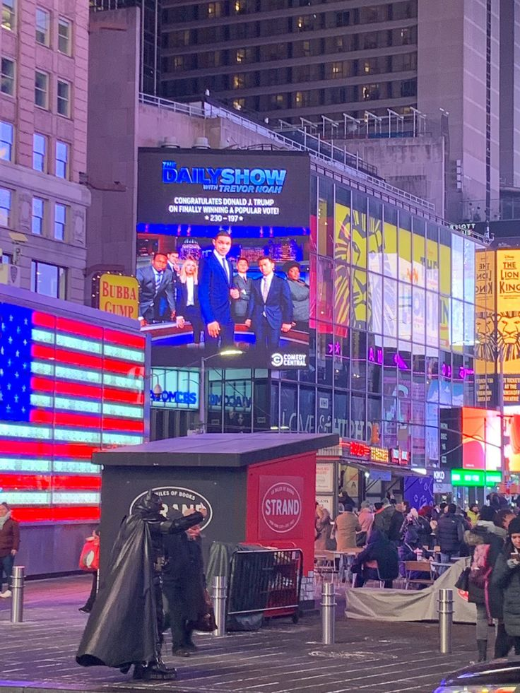The Daily Show on The daily show, Times square, Billboard