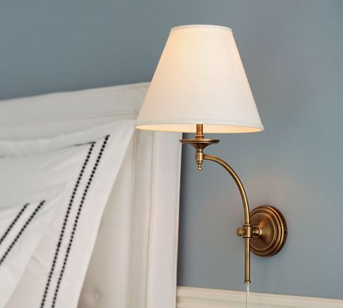24 Best Images About Lighting Bedside Sconce On Pinterest