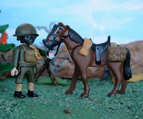Playmobil-Custom-Soldado-Britanico-a-caballo-British-soldier-WW2