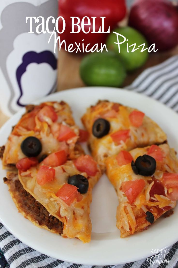 Copycat Taco Bell Mexican Pizza - Raining Hot Coupons