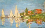 Regatta At Argenteuil by Claude Oscar Monet