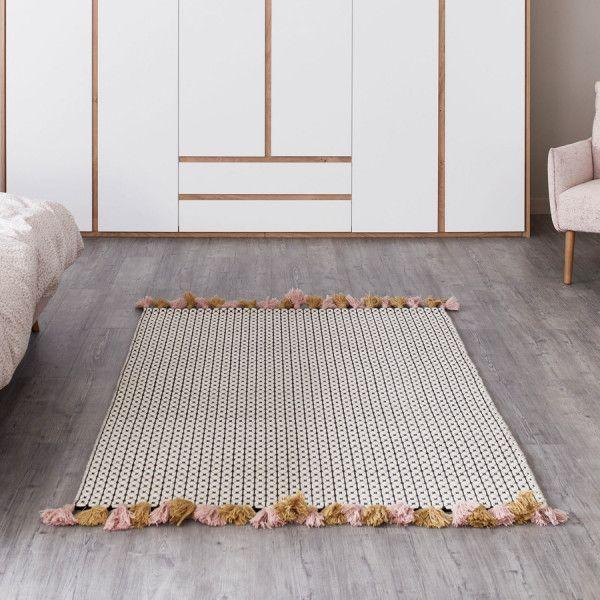 Teppich Insula Teppich Grafische Muster Blaue Teppiche