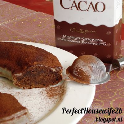 Recept voor truffelkruidnotencake met witte chocolade ganache / Recipe for chocolate pumpkin spice cake with white chocolate ganache. Tags: #Sinterklaas, kruidnoten, cake