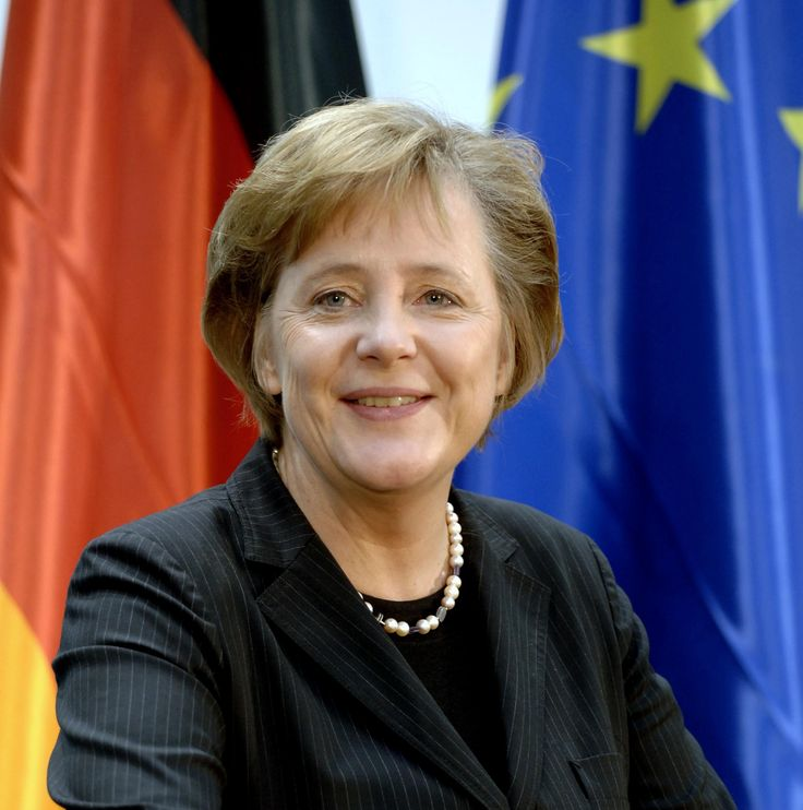 Angela Dorothea Merkel (July 17, 1954 - ) Chancellor of Germany and Chairwoman of the Christian Democratic Union.