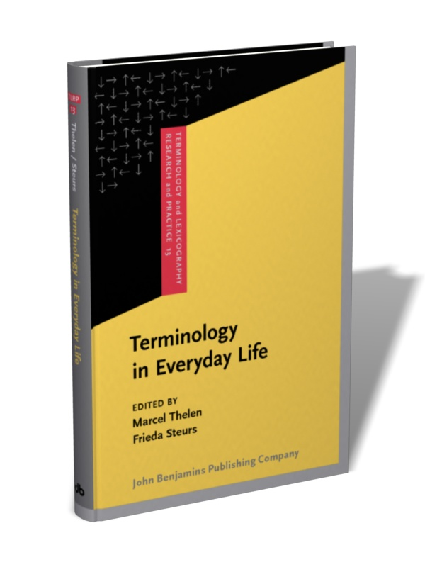 terminology in everyday life edited by marcel thelen and