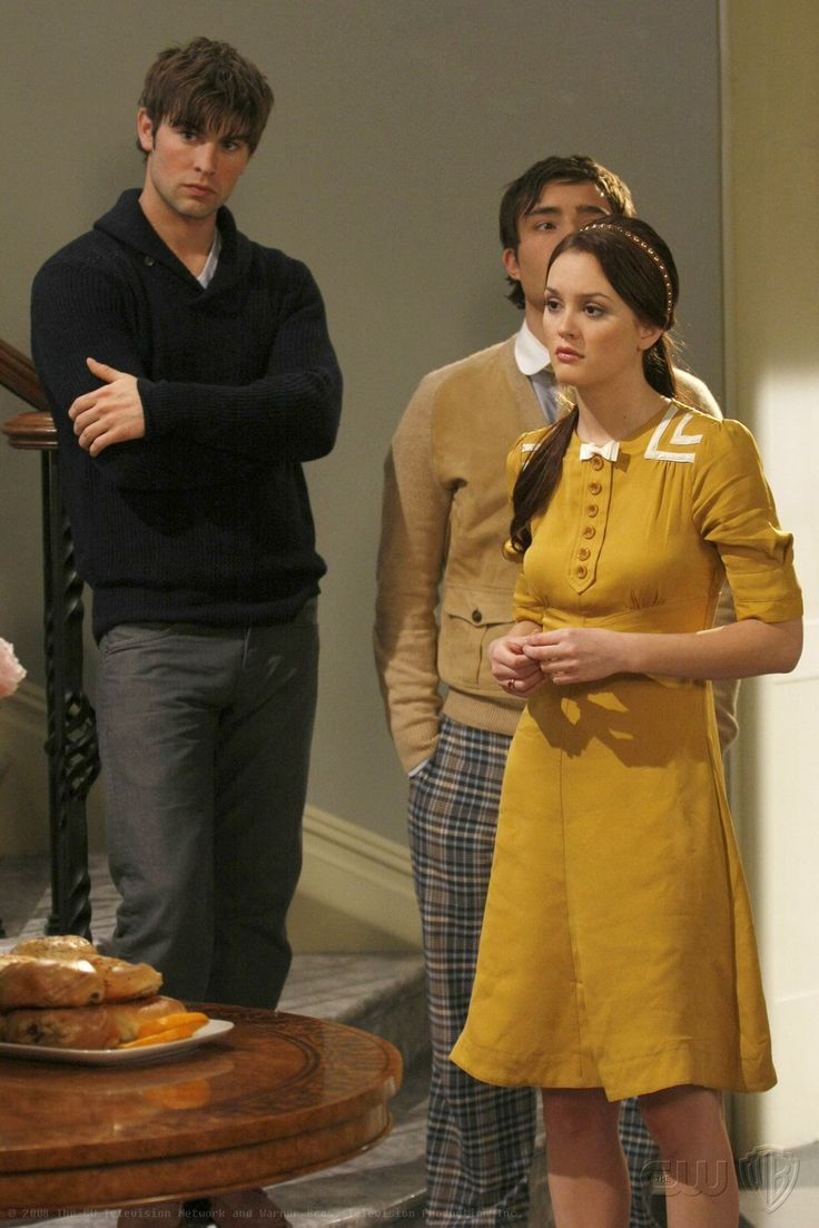 Dress envy. Blair Waldorf does have amazing style. :)