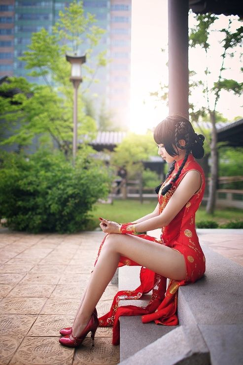 Cheongsam beautiful, girl, lady, pretty, lovely, chic, chique, kawaii, cute, beauty, beautiful people, ulzzang, asia, asian