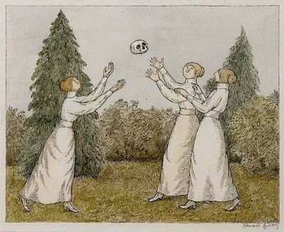 Edward Gorey drawing | A Dull Afternoon