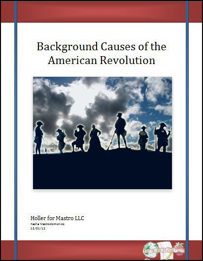 social causes american revolution essay The causes of the american revolution essays - the american revolution was a major declaration of freedom and individual rights that inspired similar revolutions world wide the underlying causes of the american revolution were deep seated.