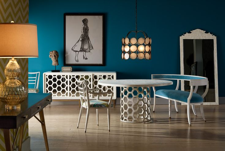 Dining Room and Living Room Ideas To Steal From High Point Market 2017 Furniture Inspirations | Best  Decor Ideas | Beautiful Interiors #livingroomdecoration #bestideas #followme Read more: https://brabbu.com/blog/2017/04/dining-room-living-room-ideas-steal-high-point-market-2017/