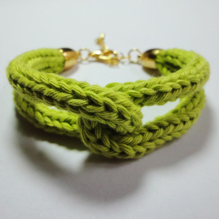 Strickliesel- Armband - Modell Marie