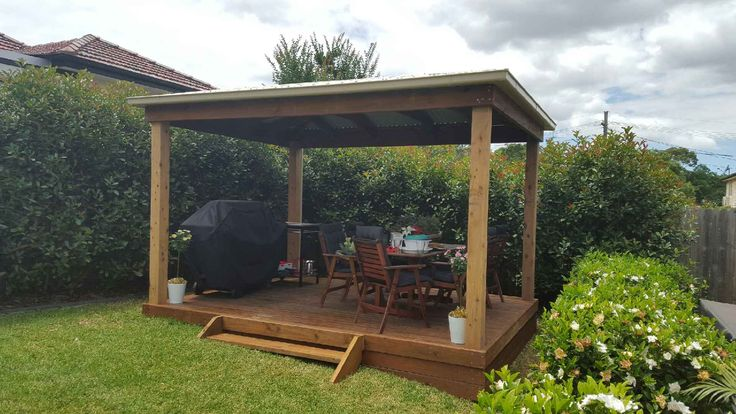 A Gazebo from Aarons could be the answer to your entertainment area woes...