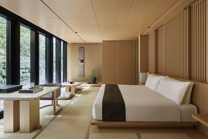 Beautiful Japanese Inspired Resort Room In Kyoto Japanese Home Design Traditional Japanese Architecture Japanese House