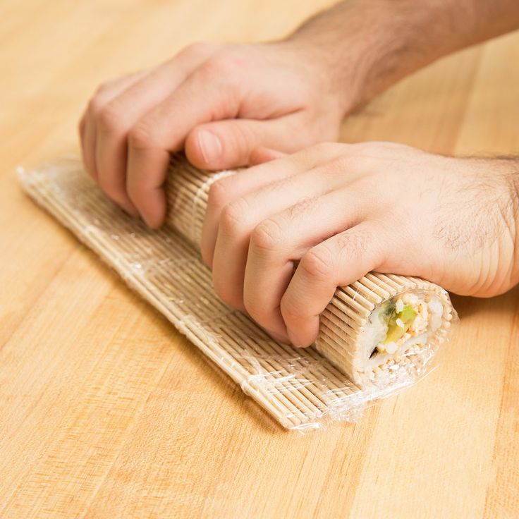 Rounded Bamboo Sushi Rolling Mat