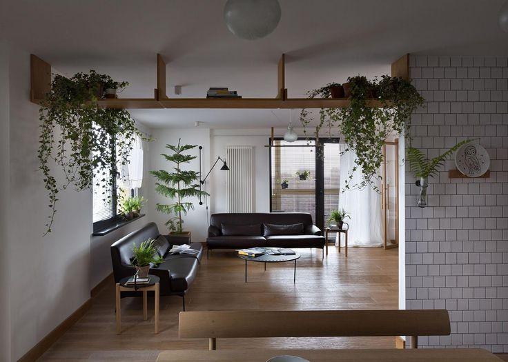 Appartamento monocromatico a Kiev by Alena Yudina | Dd Arc Art #living #interiordesign #arredamento #interni #decor