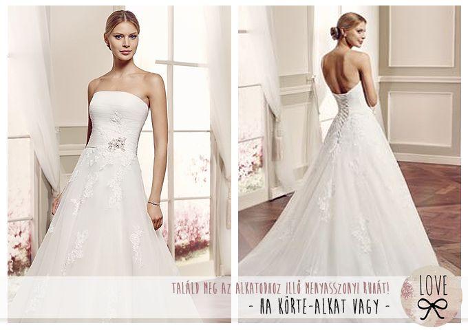 LOVE Esküvői Ruhaszalon - Így válassz az alkatodhoz illő ruhát - 1. rész - Ha körte-alkat vagy