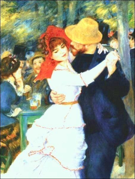Renoir__Dance_at_Bougival Clipart gratis di quadri_famosi