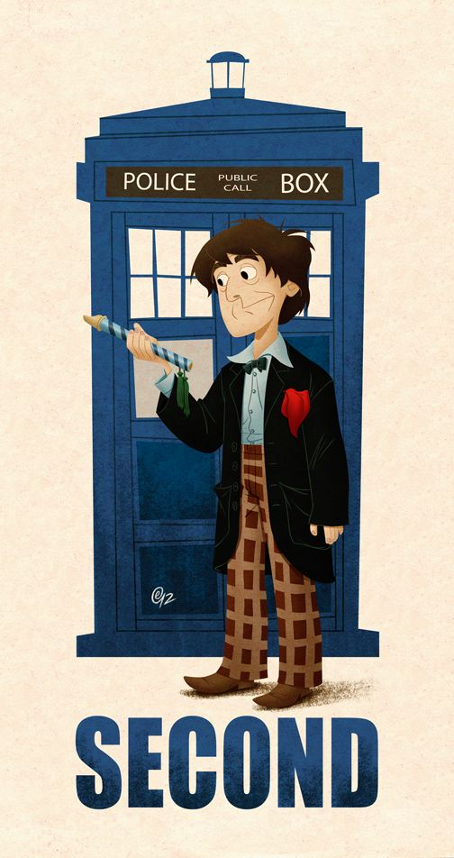 Second Doctor by ~Erich0823 on deviantART