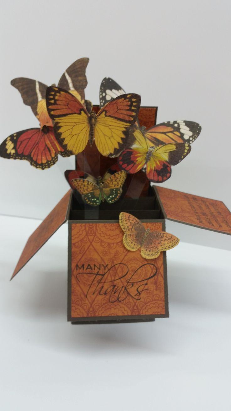 Butterfly Box by Susan of Art Attic Studio
