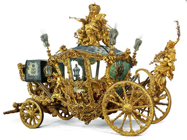 Neuer Gala-Wagen Koenig Ludwigs II. im Marstallmuseum ©Bayerische Schlösserverwaltung