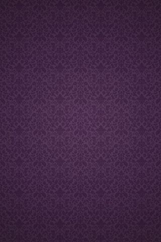 Purple victorian pattern android wallpaper hd plain for Purple wallpaper for walls