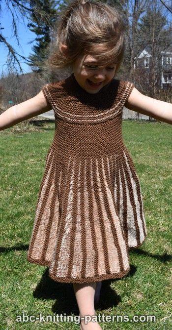 Girl's Sideways Sun Dress