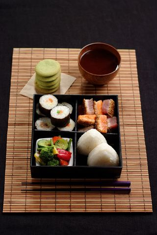 Bento recipes. Here's the japonese one