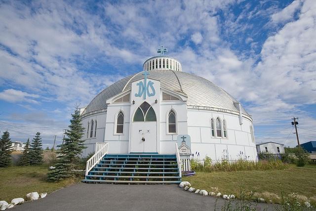 Church Inuvik by jksnijders, via Flickr