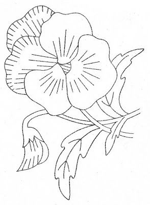 pansey coloring pages | how to draw : pansies (page 2)