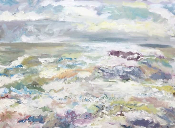 Storm Approaching Oil on Canvas 80 x 100 cm £ 1,500  #Art #Paintings #Seascape