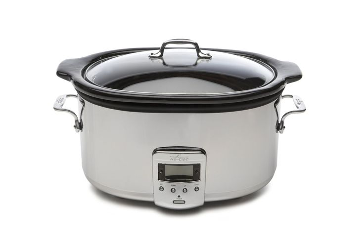 Today, because it's Monday, because it's a brand new year, and because I love ya, I'm giving away two of these awesome All Clad Slow Cookers. This thing is a workhorse and it&#821…