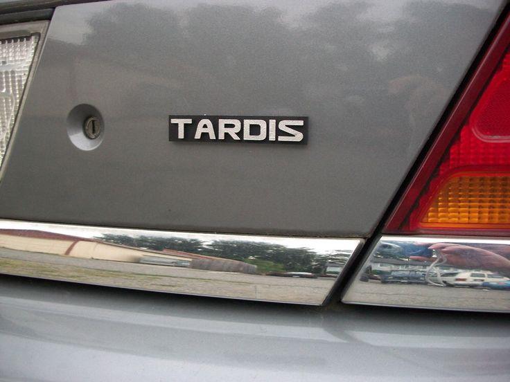 TARDIS Custom Car Emblem by Empira on Etsy https://www.etsy.com/listing/79545959/tardis-custom-car-emblem