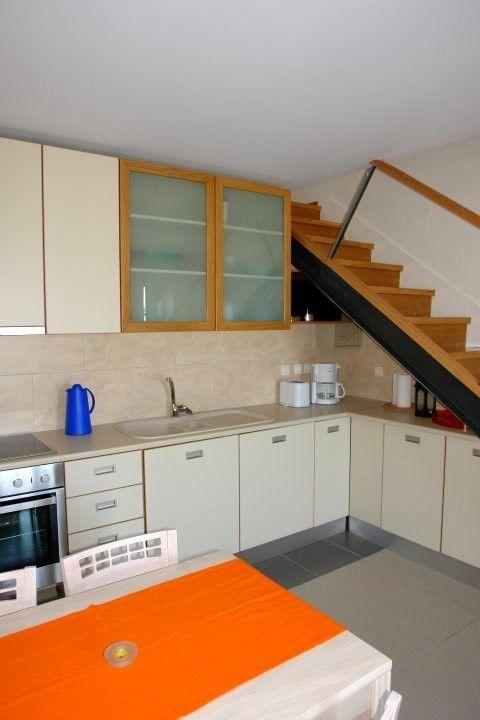 Platanias villa rental - kitchen