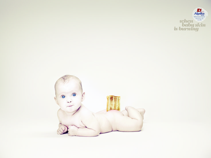 Campaign for Alpika - children's skincare product awarded with Golden Drum award.