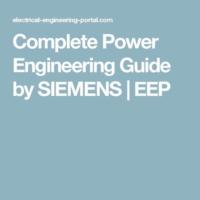 Complete Power Engineering Guide by SIEMENS | EEP