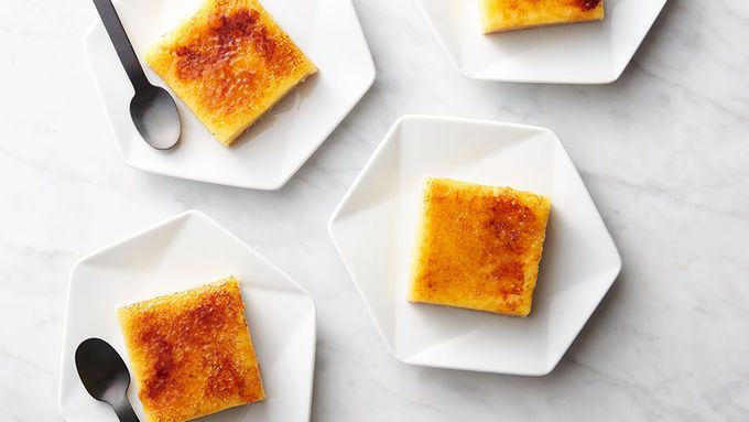 Crème brûlée walks into a bar—a COOKIE bar. (See what we did there?) Don't worry, this easy at-home riff on everyone's favorite restaurant dessert is so good, it more than makes up for that lame joke.