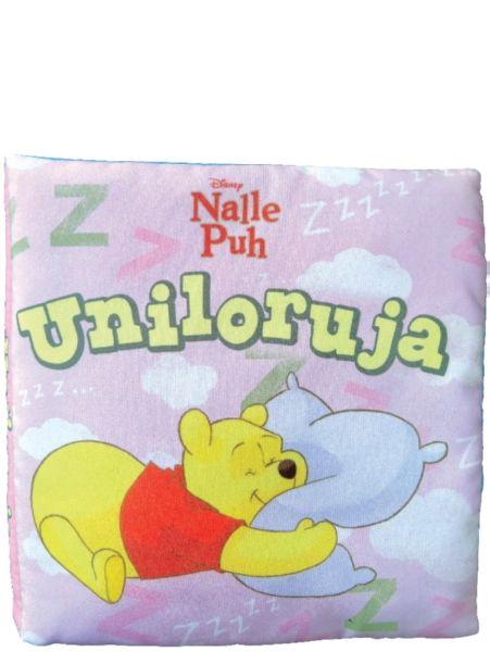 Pehmoisessa kangaskirjassa Nalle Puh ja hänen ystävänsä käyvät nukkumaan. Herttaisista riimirunoista selviää, että jokaisella on oma yksilöllinen tapansa nukahtaa ja nukkua. Kaikki näkevät silti makeita ja ihania unia! Turvallisen pehmeä kirja sopii hyvin pienokaisen unikaveriksi. Kauniita unia, Nallen kuvia!