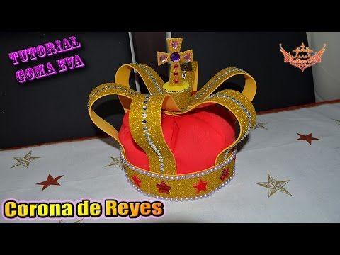 Hola a tod@s, aprovechando de el 6 de enero, es decir, dentro de muy poquito es el día de los reyes magos, he querido hacer una corona para aquellos que tien...