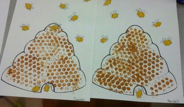 how to make a beehive craft project
