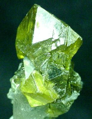 Green Sphalerite - Balmat-Edwards Zinc District, St Lawrence County, New York, USA.