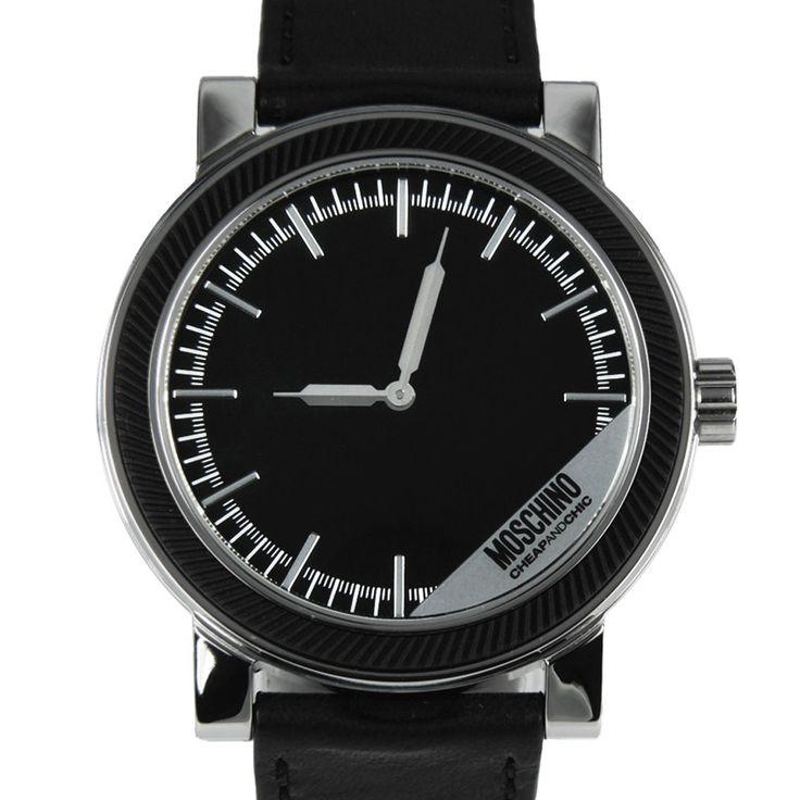 Chronograph-Divers.com - MW0267 Moschino Quartz Cheap and Chic Mr Label Mens Designer Watch, $196.00 (http://www.chronograph-divers.com/mw0267/)