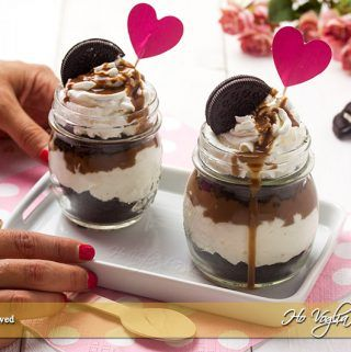 Coppette Oreo e cioccolato cremose ricetta | Ho Voglia di Dolce